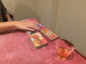 蓮見先生が鑑定に使用するカード