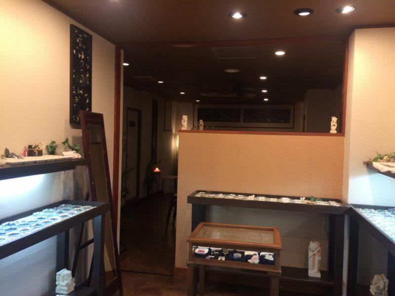 新宿占い館バランガンの内装